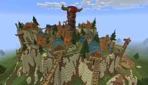 WoW World of Warcraft thunder bluff Minecraft Tauren