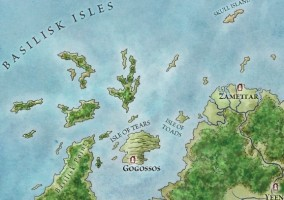 map game of thrones Central Essos