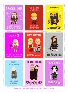 Timbres game of thrones
