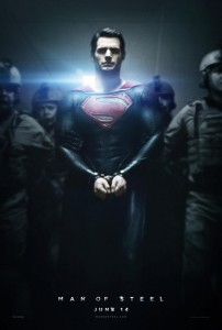 Man of Steel le prochain Superman l'affiche du film poster