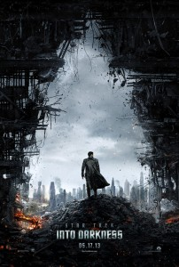 Star Trek into darkness, l'affiche du film 2013 J.J. Abrams