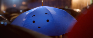 Film Clip Image du court métrage de Pixar : The Blue Umbrella