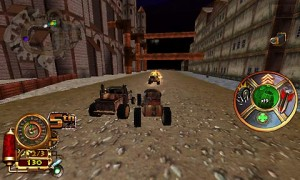 Steampunk Racing 3D ingame