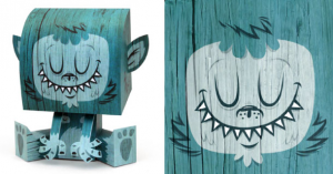 Tougui papertoys billy sweet monster