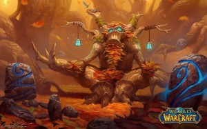 World Of Warcraft un fond d'écran avec un arbre pensif wallpaper ent