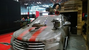 new york comic on voiture tuning walking dead