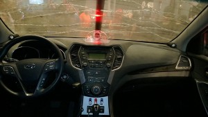 new york comic on voiture tuning walking dead interieur