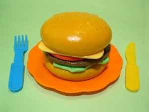 imprimante 3D mcdonald happy meal