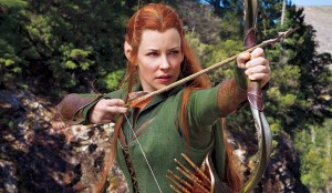 Evangeline Lilly Tauriel The Hobbit Desolation de Smaug peter jackson link zelda