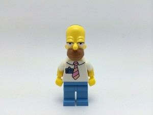 Simpson Homer LEGO donuts licence