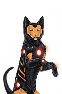 iron man cat marvel