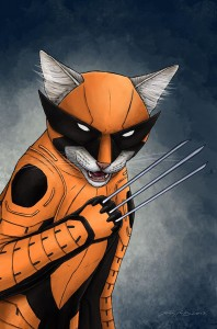 wolverine cat marvel