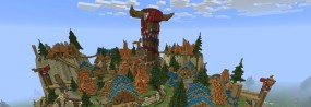 Le monde de World of Warcraft recréé dans Minecraft